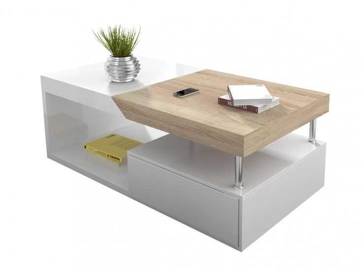 de la maison table basse bois boutique gain de. Black Bedroom Furniture Sets. Home Design Ideas