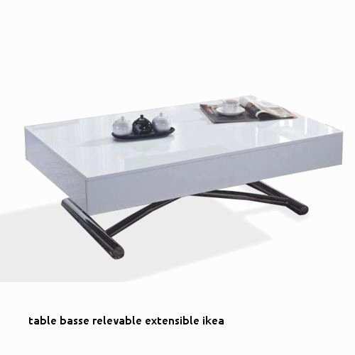 Table Basse Relevable Extensible Ikea.Table Basse Plateau Relevable Pas Cher Boutique Gain De