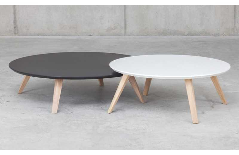Ikea Table Basse Ronde.Table Basse Ronde Blanche Ikea Boutique Gain De Place Fr