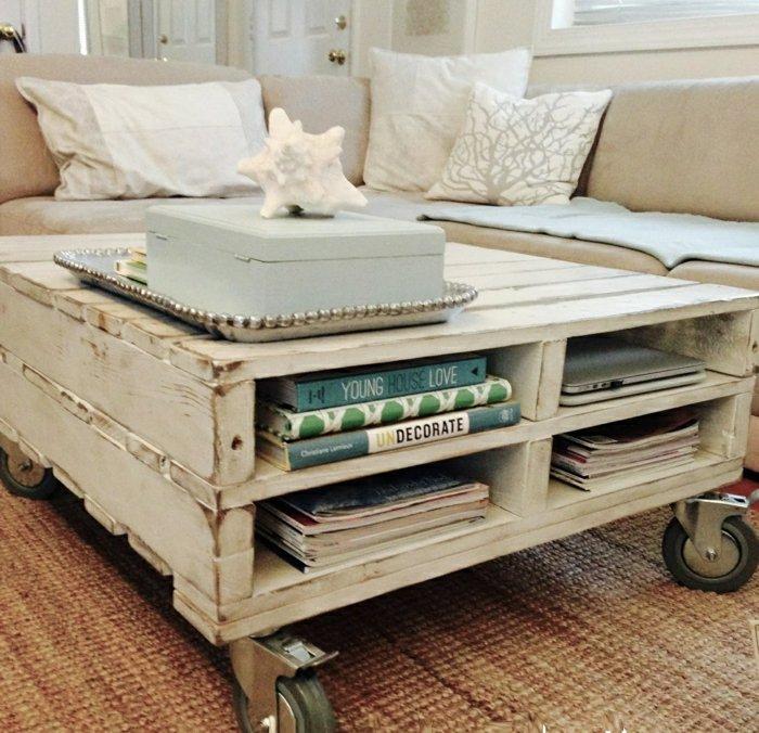 Tutoriel table basse palette - Boutique-gain-de-place.fr