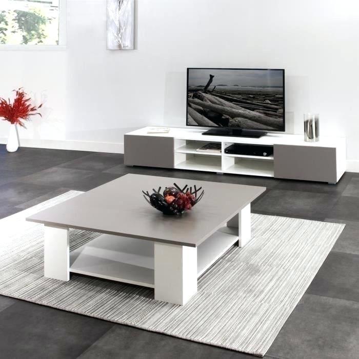 Meuble tele et table basse scandinave boutique gain de - Meuble tv gain de place ...