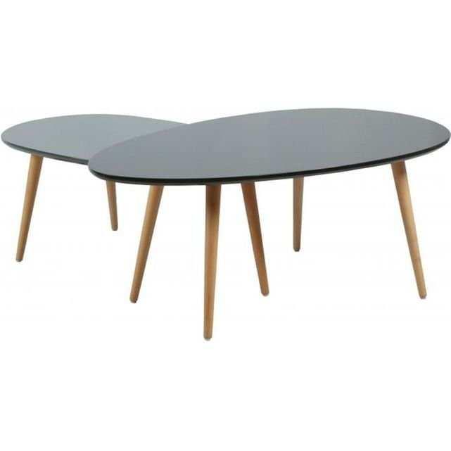 Table Basse Gigogne Redoute Boutique Gain De Place Fr