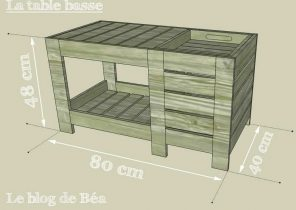table basse ronde en palette boutique gain de. Black Bedroom Furniture Sets. Home Design Ideas