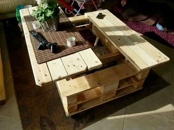 Comment faire une table basse de jardin en palette - Boutique-gain ...