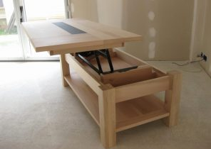 Genial Fly Table Basse Plateau Relevable