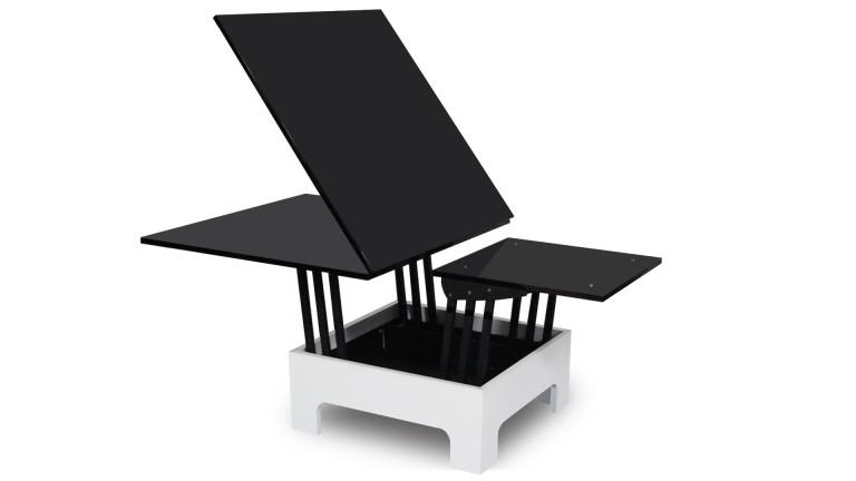 Salon jardin table basse relevable - Boutique-gain-de-place.fr