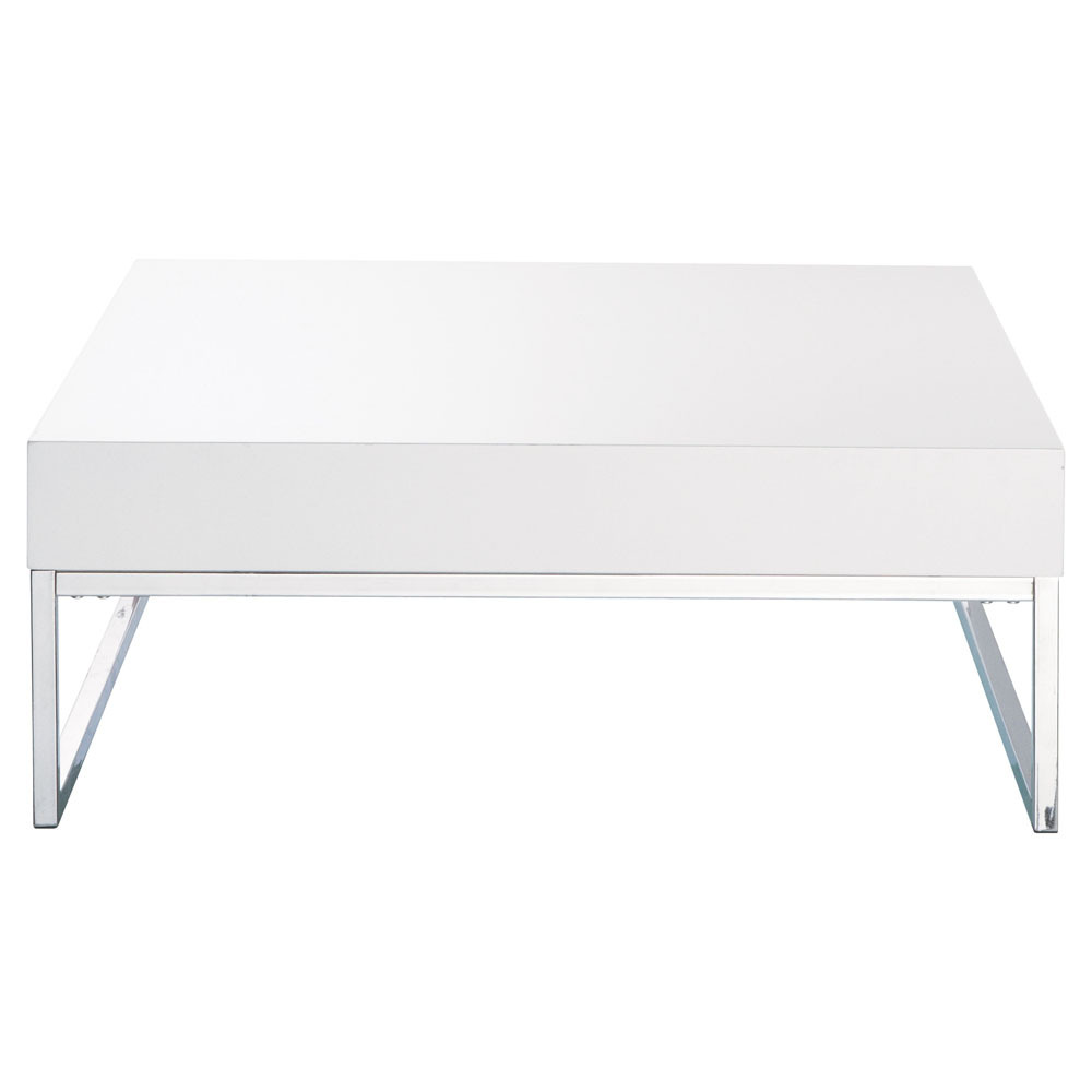 Maison Laque Gain Monde De Basse Blanc Table Boutique Du TJ3FKlc1