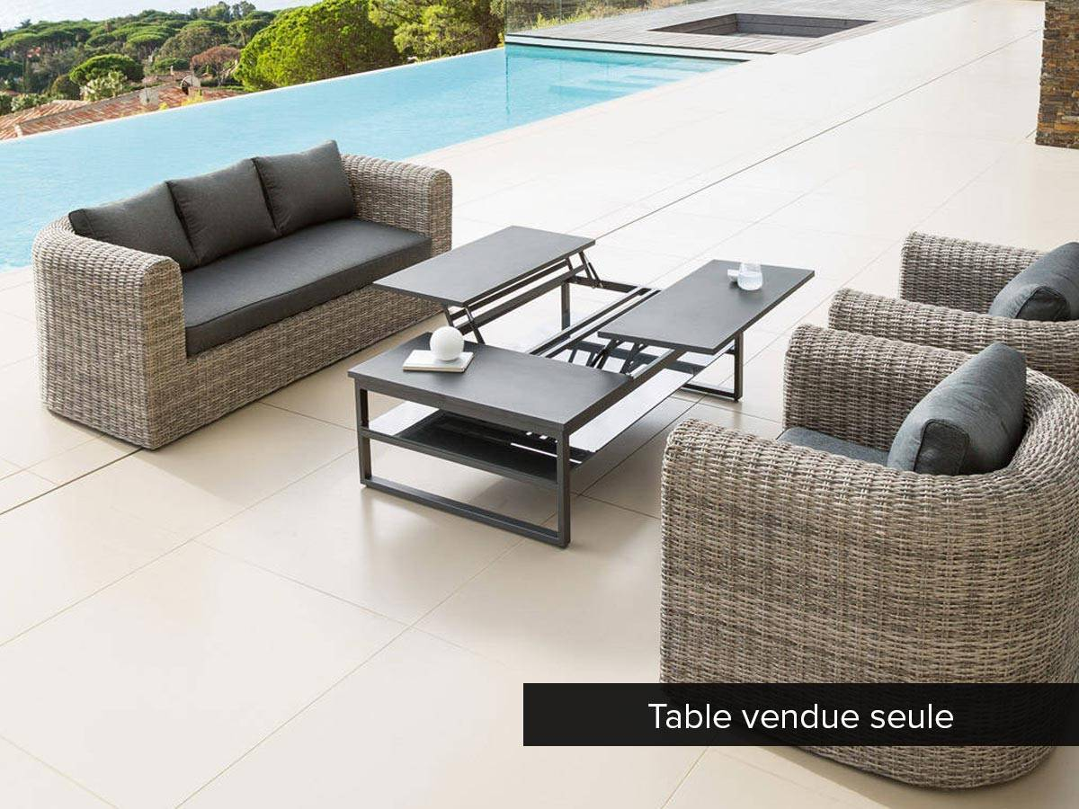 Table basse jardin relevable - Boutique-gain-de-place.fr