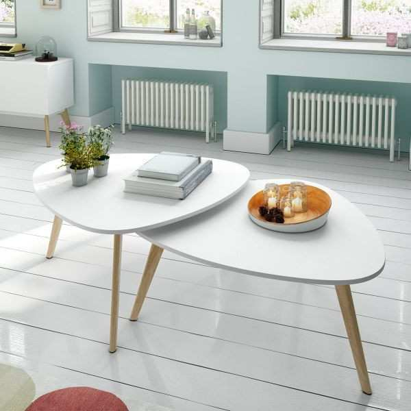 Table Basse Ronde Scandinave Ikea Boutique Gain De Place Fr