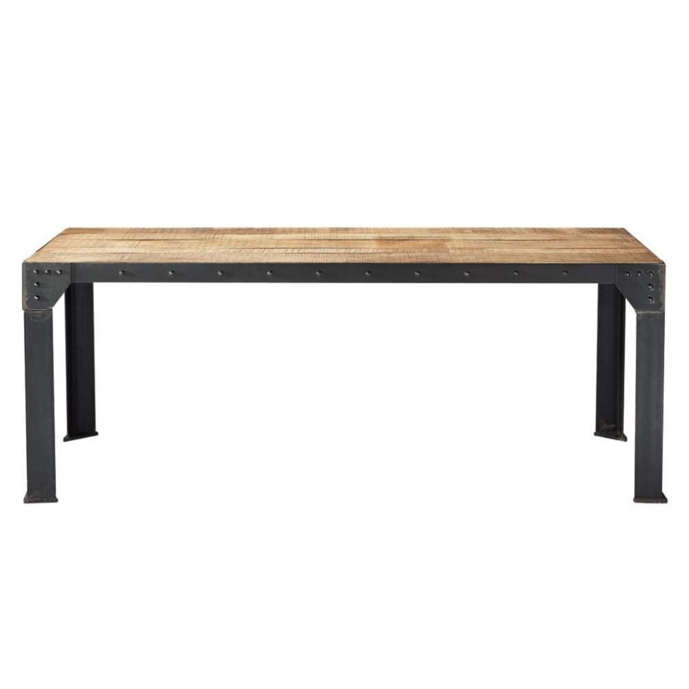 Table Basse Style Industriel Maison Du Monde Boutique Gain