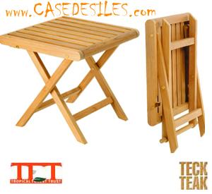 Petite Table Pliante Bois