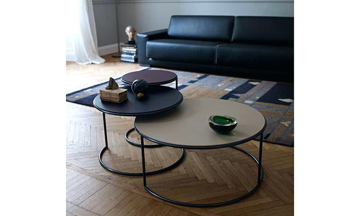 Table Basse Gigogne Ronde Bois Boutique Gain De Placefr