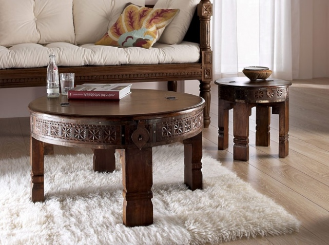 Table Basse Indienne Maison Du Monde Boutique Gain De Placefr