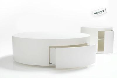 Table Basse Ronde Avec Rangement Boutique Gain De Place Fr