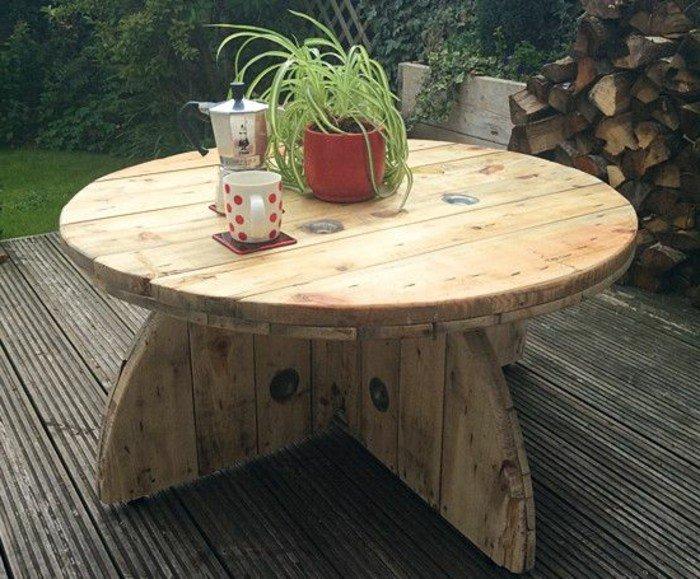 Fabriquer une table basse de jardin en bois - Boutique-gain-de-place.fr
